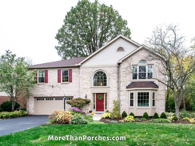 porch_simplicity_landscaped_white_brick_home